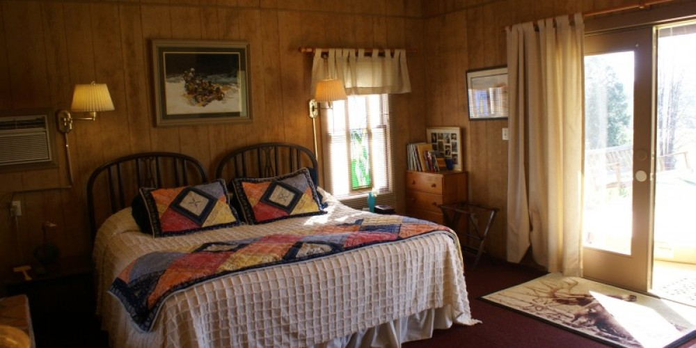 Chilhowee guest room with view of pasture – Carol Hawkins