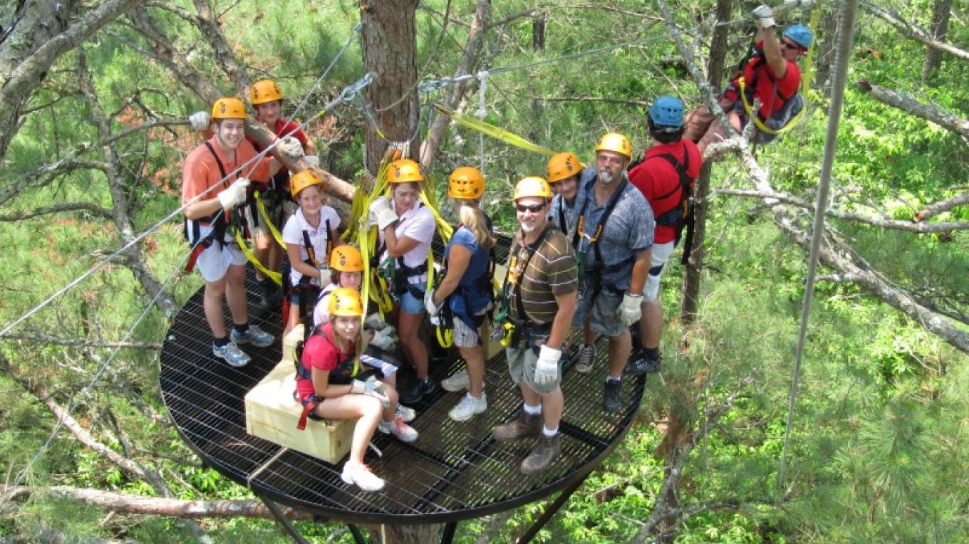 High in the pines – Wildwater Adventure Centers