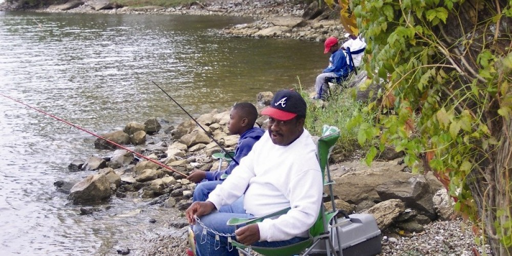 Fishing from a boat or the shoreline of Chickamauga Lake are popular pasttimes at Harrison Bay State Park – State Photo