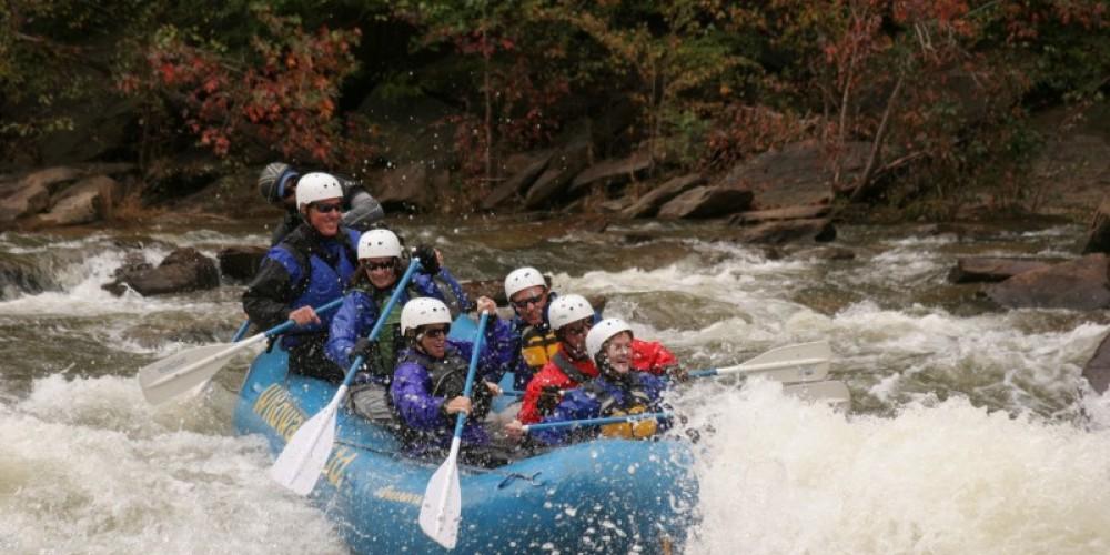 The Ocoee in the Fall – Whetstone/Wildwater Adventure Centers