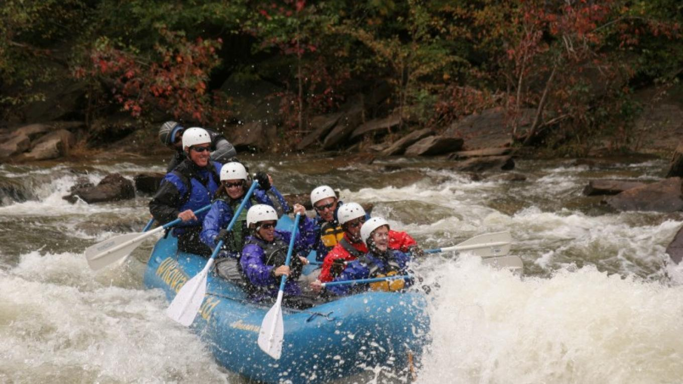 The Ocoee in the Fall – Whetstone/Wildwater Adventure Centers