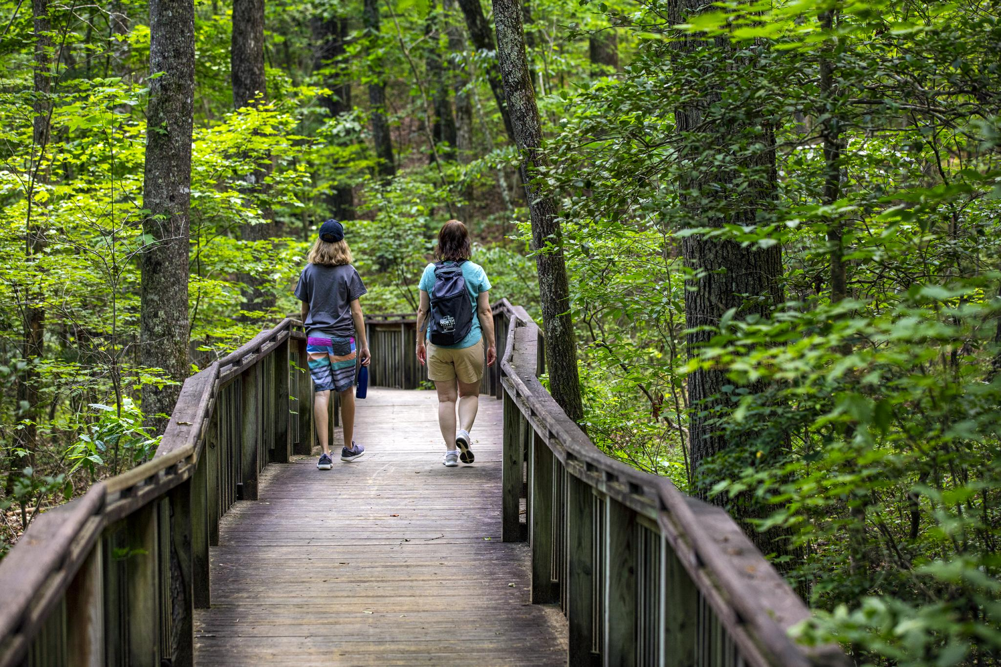 Desoto State Park has a wide range of activities including hiking trails with ADA access. – Scott Baker