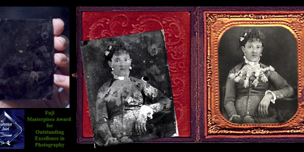 Award-winning photographic restoration by Kathryn Rutherford