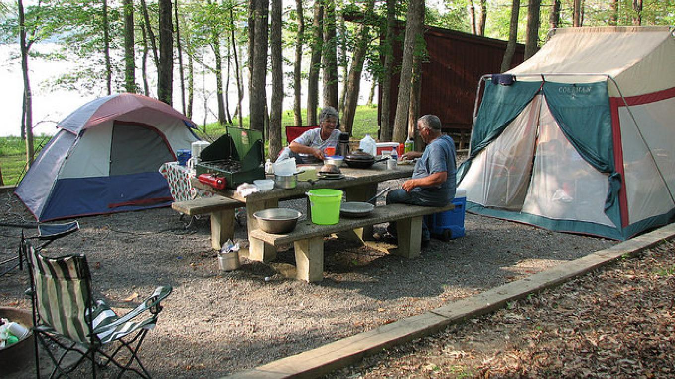 Tent, primitive and RV camping are all popular at LBL's beautiful, well-run campgrounds. – Photo U.S. Forrest Service