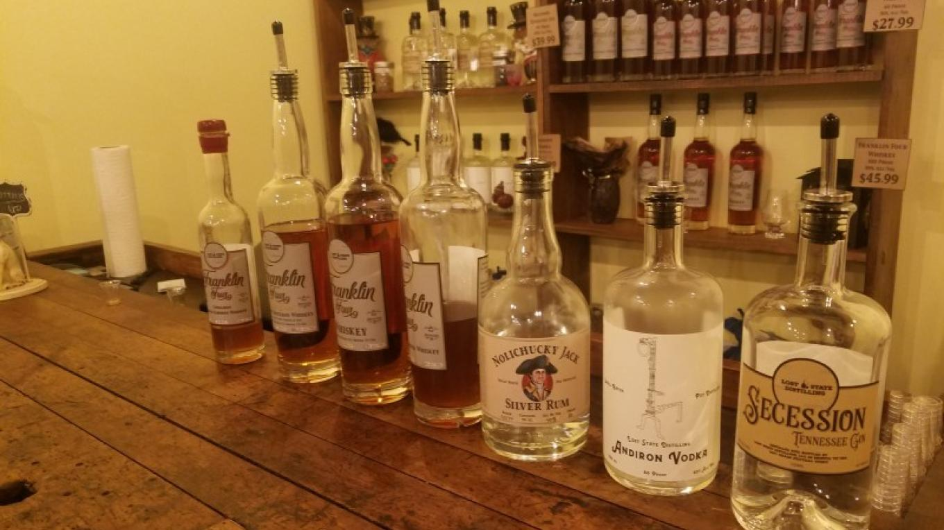 Lost State Distilling makes small batches of all your favorite spirits. A tasting room and event space allows patrons to relax and sample the carefully crafted flavors that infuse the distillery's liquors. – Mark Engler