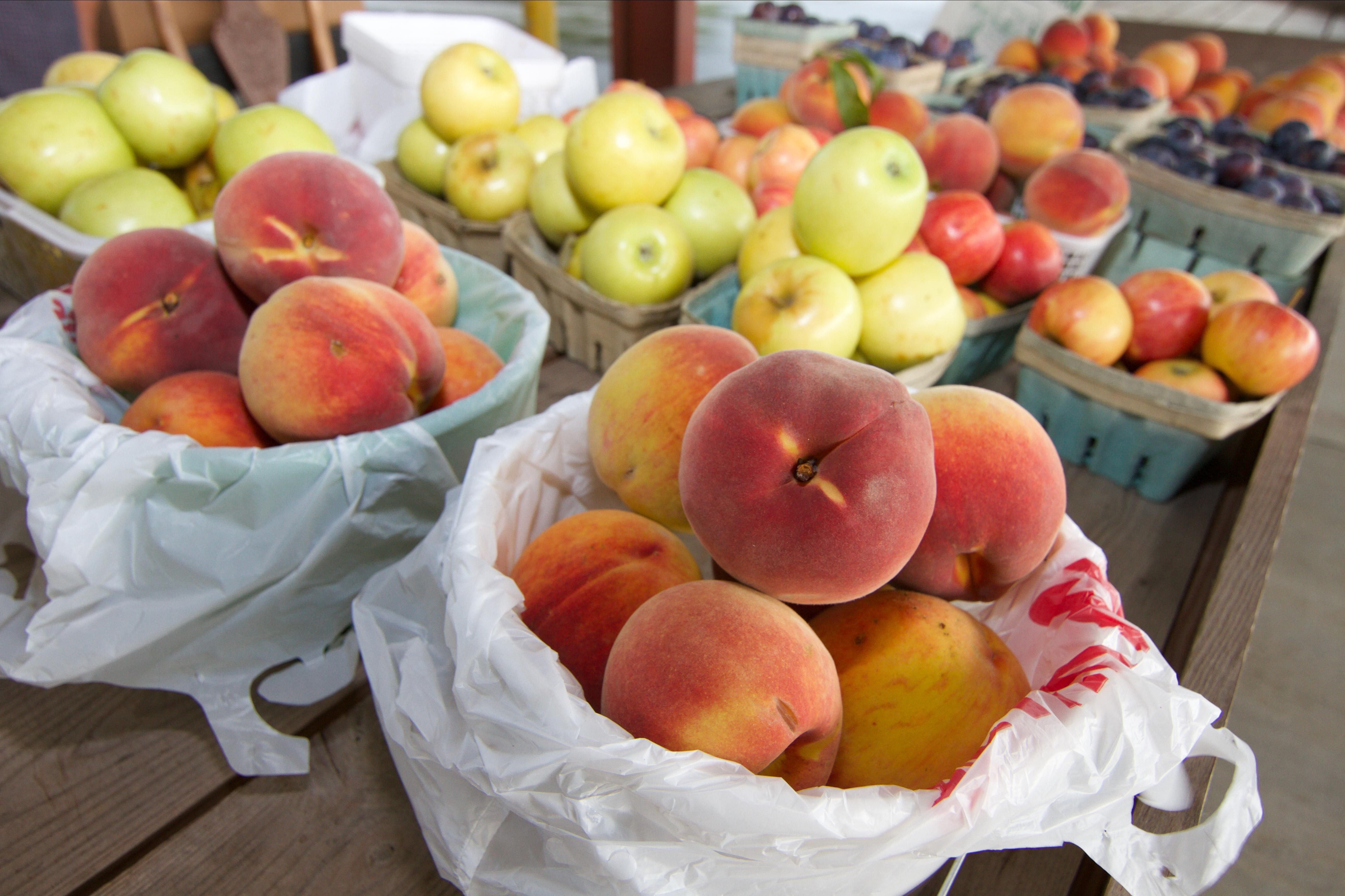 Lawrence County  Farmers Market Peaches