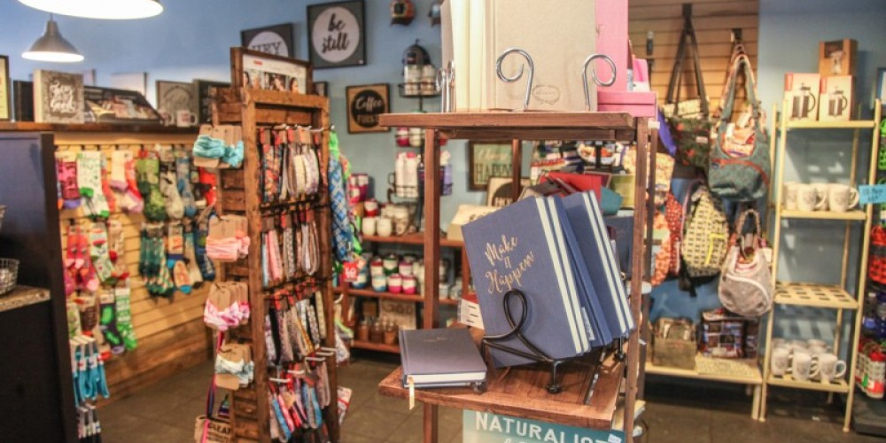 Retail area of House Blend – Ande Truman