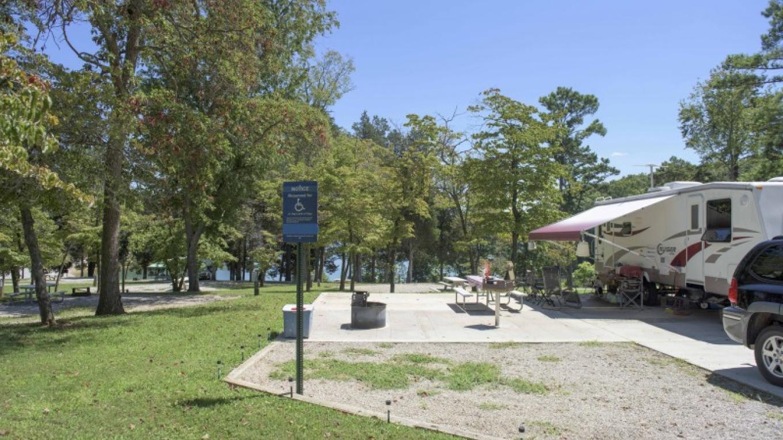 ADA accessible campsites – TVA