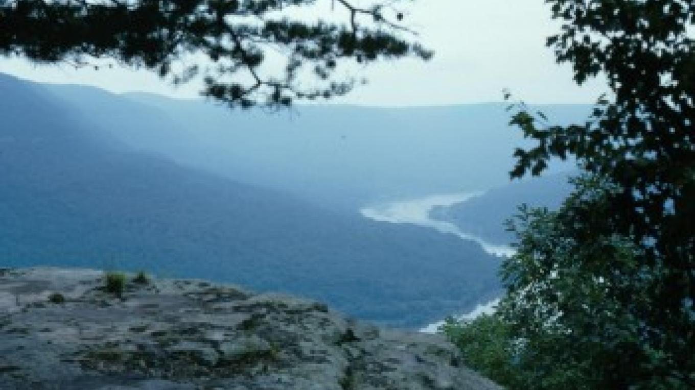 View from Prentice Cooper State Forest – State of Tennessee