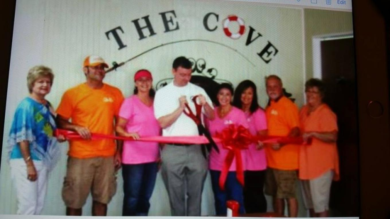 Grand Opening of The Cove Restaurant @ Riverside Campground & Motel