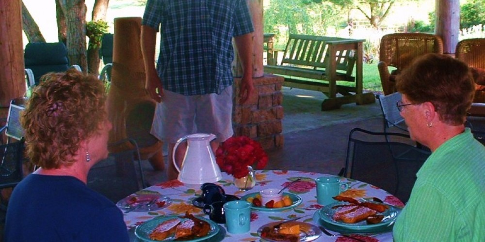 Breakfast at Ocoee Mist with Chef Kevin – Carol Hawkins