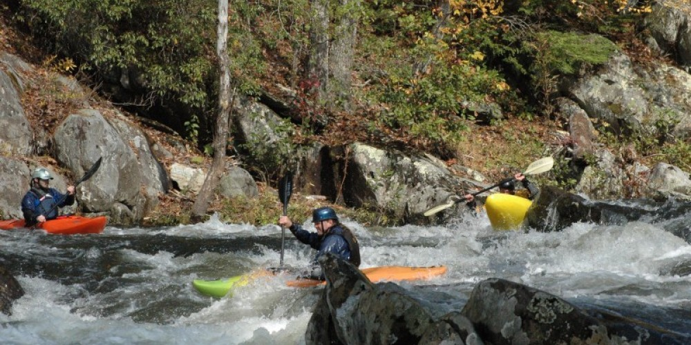 Kayakers on the Tellico River – Jim Caldwell