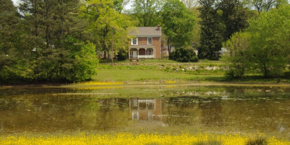 The Historic Henegar House, the oldest brick residence still standing in Bradley County. – Melissa Woody