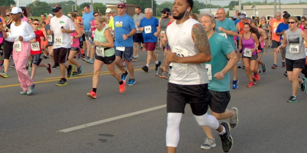 The 14th Annual Swamper's 5K and 1-Mile Run is Saturday, April 28 in Muscle Shoals, AL – Dennis Sherer