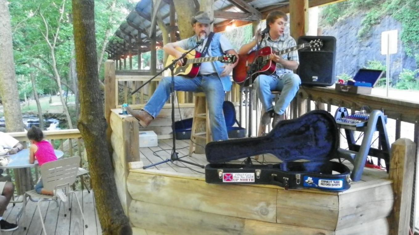 Live Music on our deck
