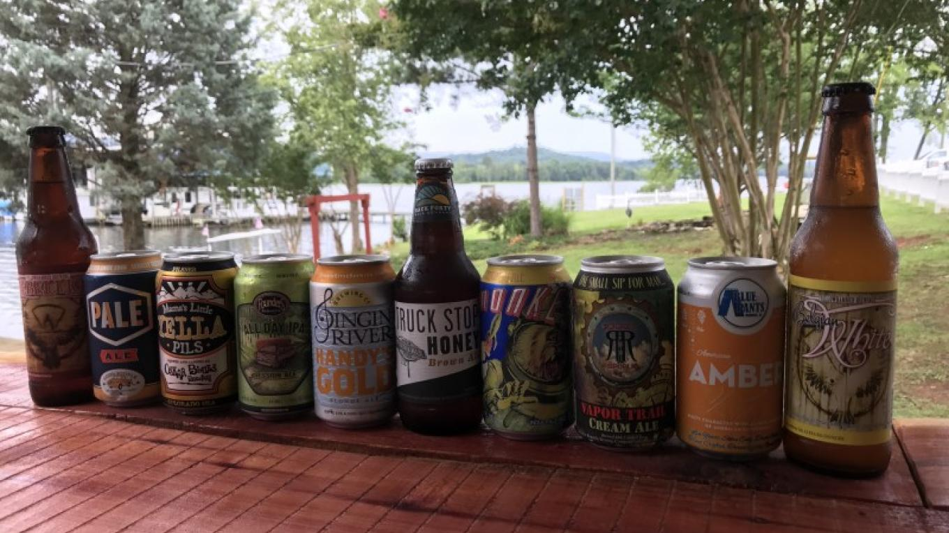 Selection of Craft Beer – Chuck Bryant