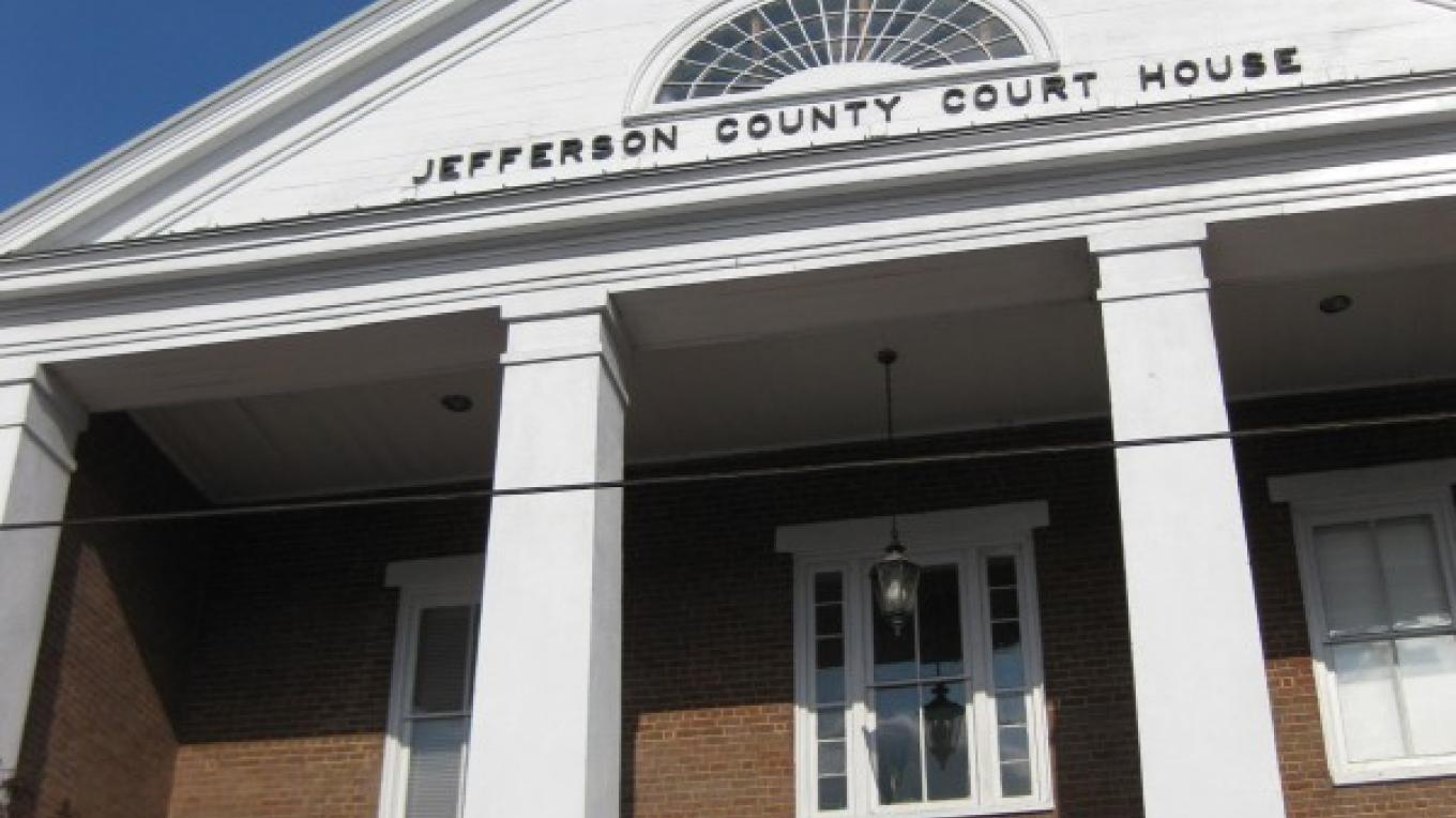 Jefferson County Courthouse located in Dandridge