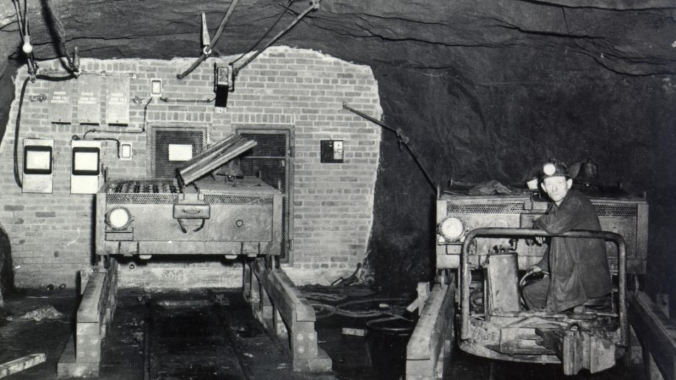 10 Level Charging Station in Boyd Mine – Tennessee Copper Company