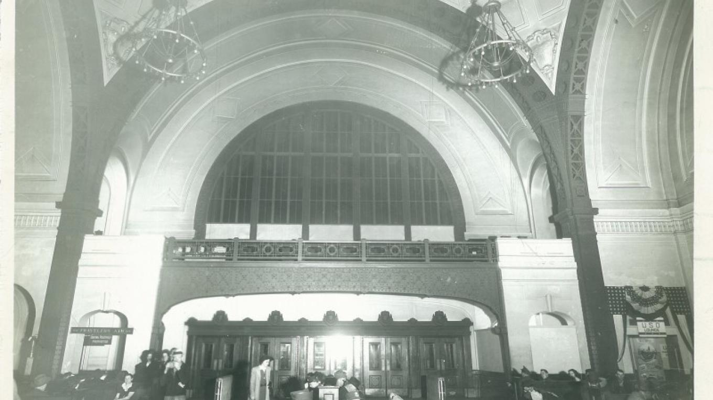Terminal Station Lobby (1940's)