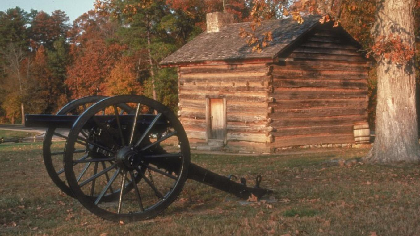 Cabin at Chickamauga Battlefield – GDEcD