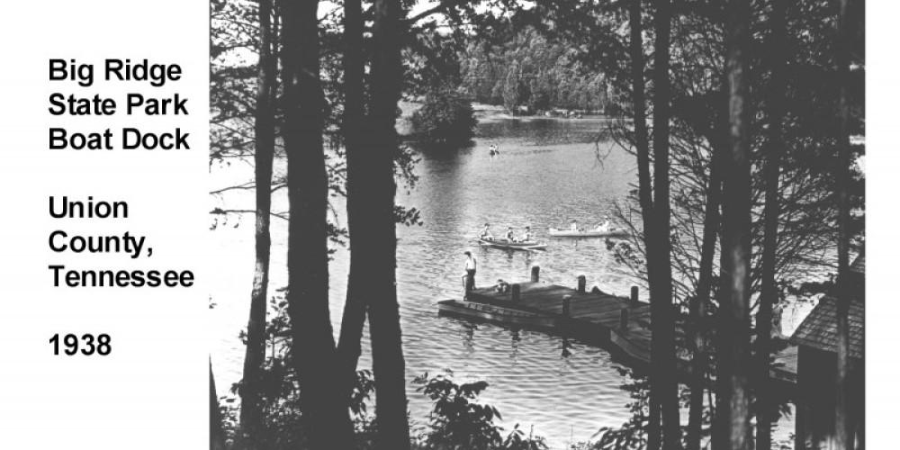 Big Ridge Boat Dock 1938