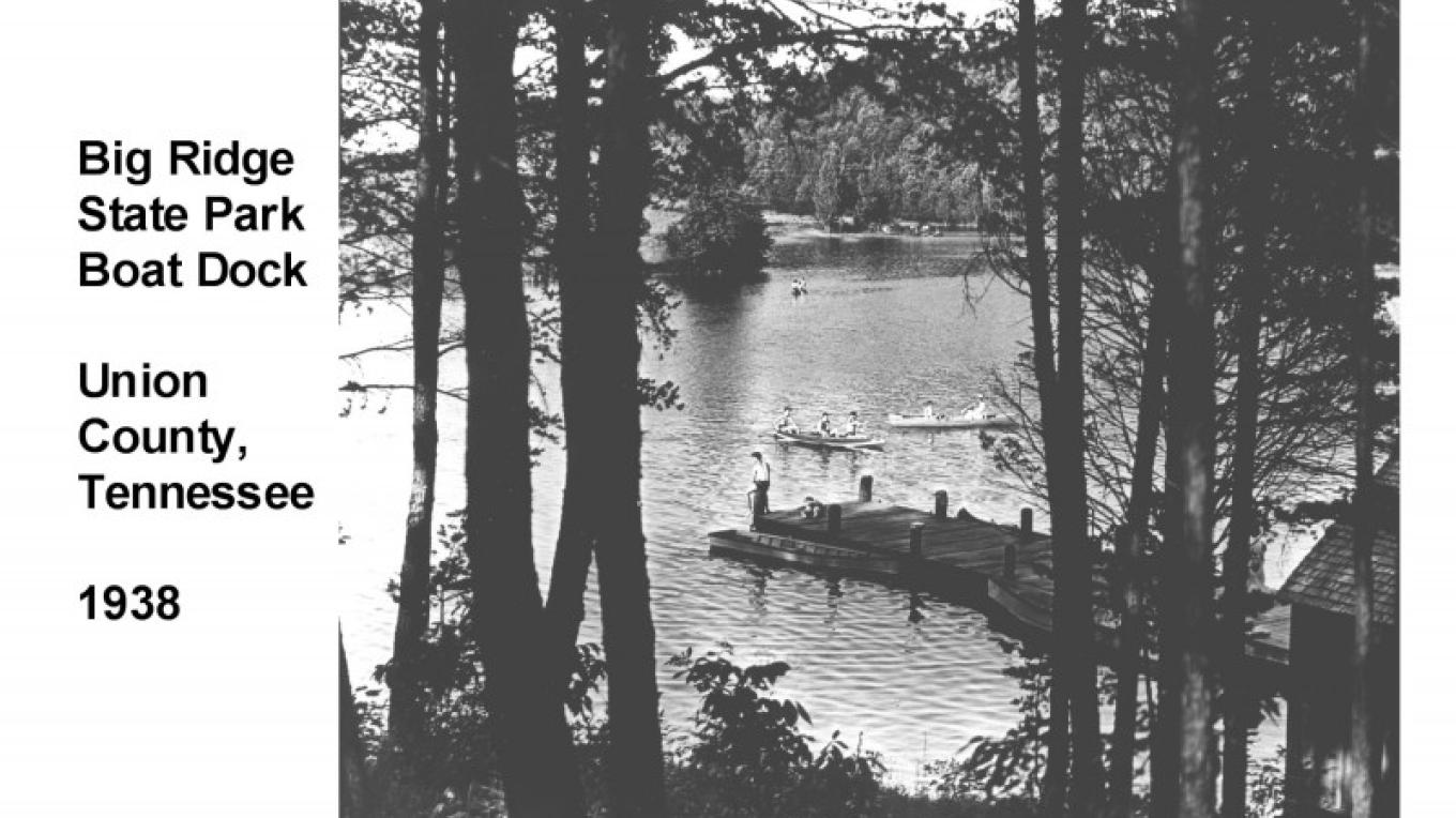 Big Ridge Boat Dock 1938