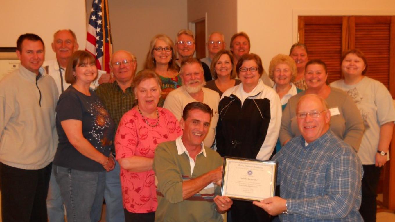 Ball Play Ruritan Club receiving recognition. – Ivy Schielke