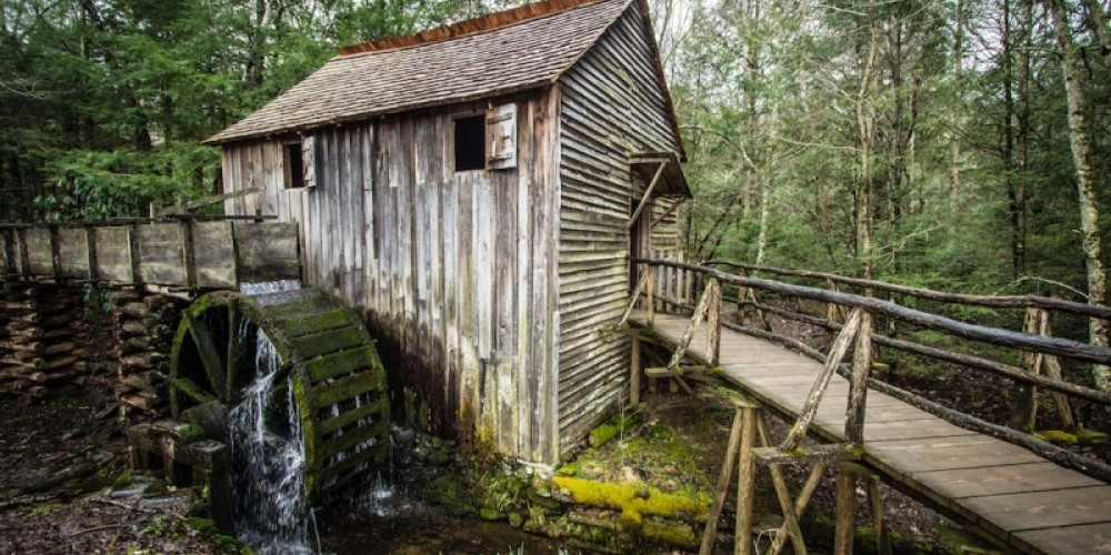 Cable Grist Mill located in park and open to the public. – ehrlif