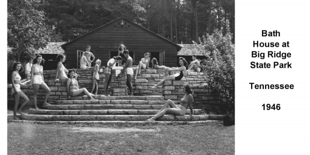 Big Ridge Bathhouse 1946