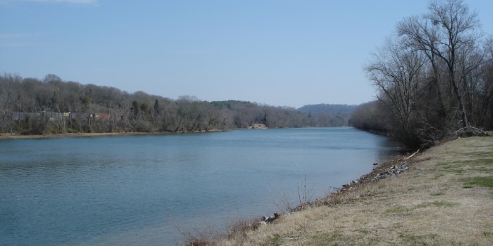 On the banks of the Hiwassee – Melissa Woody