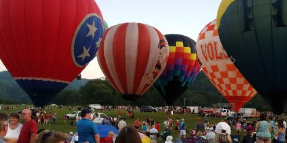 Fun for the entire family. – Great Smoky Mountain Balloon Festival