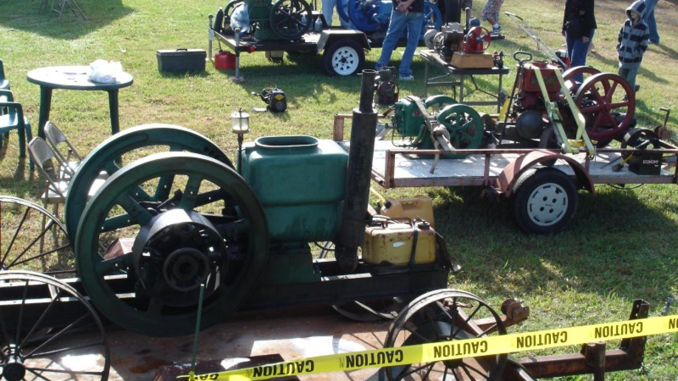 Antique farm tools are showcased at the Fair. – Prater's Mill Foundation