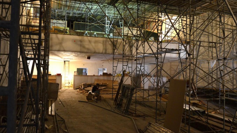 Princess auditorium during restoration work in 2011. – J. Paul Mashburn