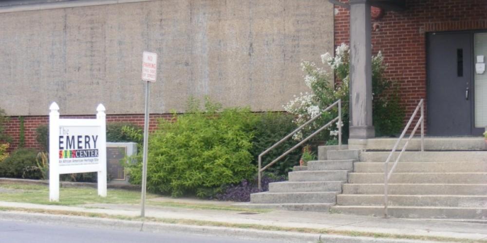 Emery Center Entrance – Dionna Reynolds
