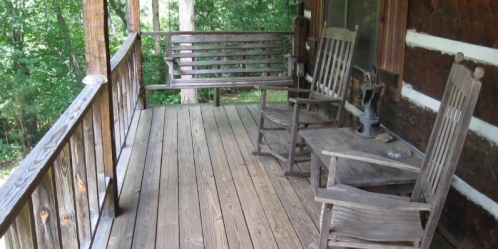 Rocking Chair Porch Cabin #1 – Patricia Scott