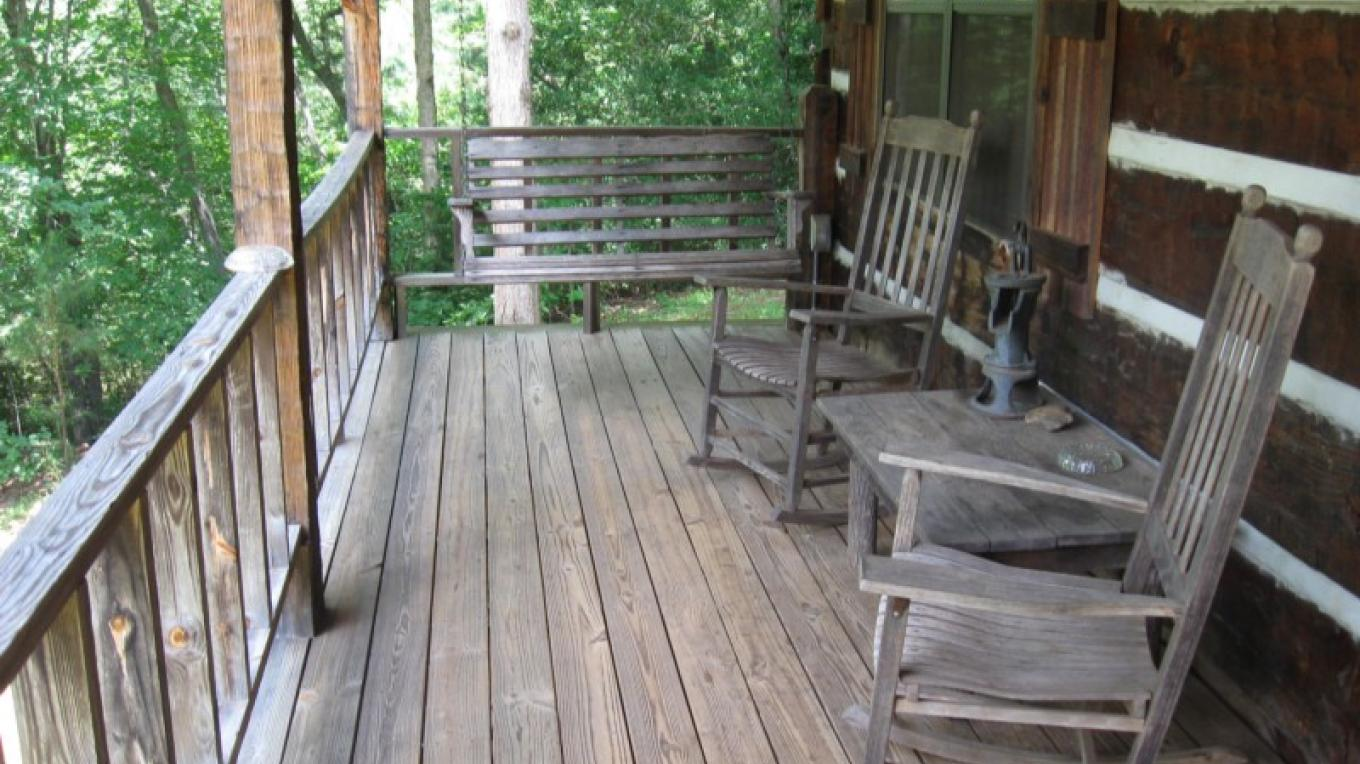 Rocking Chair Porch Cabin #1 – Patricia Scott