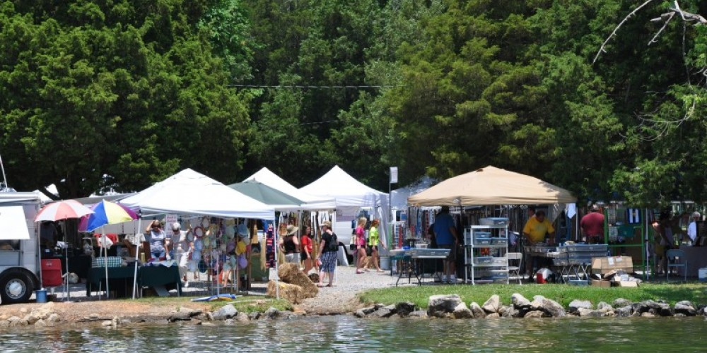 Lenoir City Park - First Weekend in June - Annual Arts and Crafts Festival – Klair Kimmey