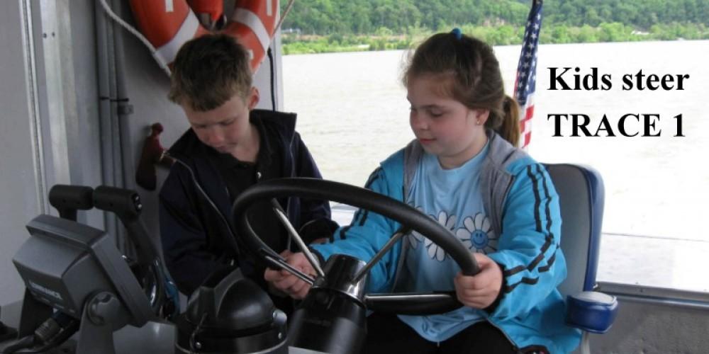 Kids steer so bring a camera. – Capt Farmer