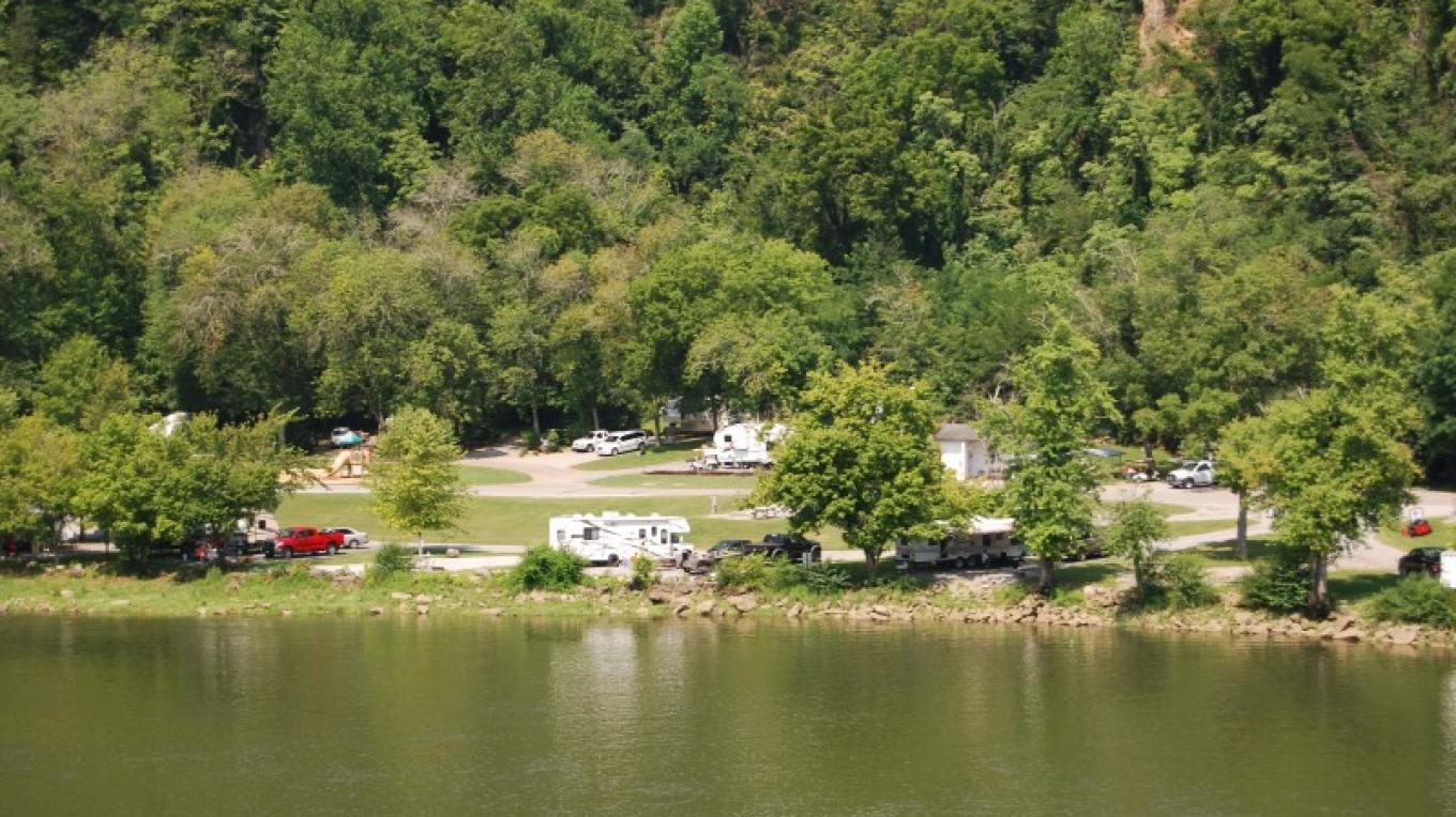 Tailwater camping area – TVA