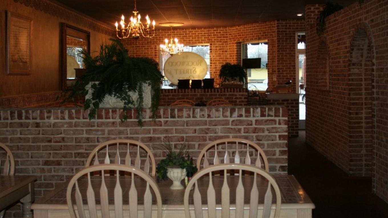inside Rockwood Street Grill in downtown Rockwood – Pam May