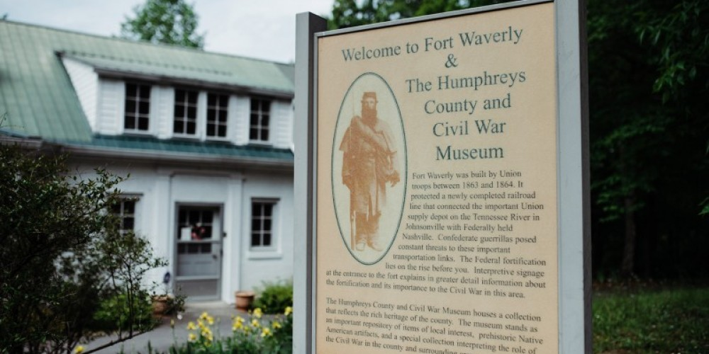The Butterfield House is home to the Humphreys County and Civil War Museum. – Cari Griffith
