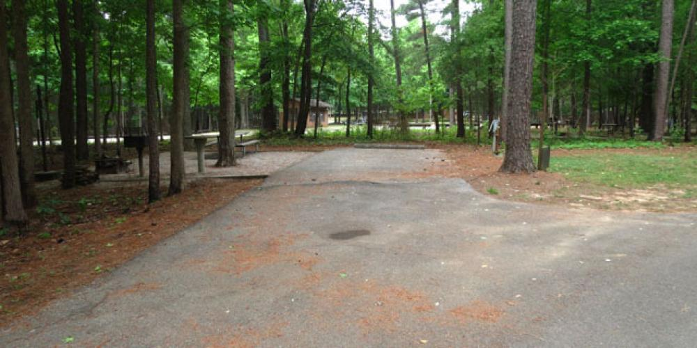 RV camping pad – Corps of Engineers