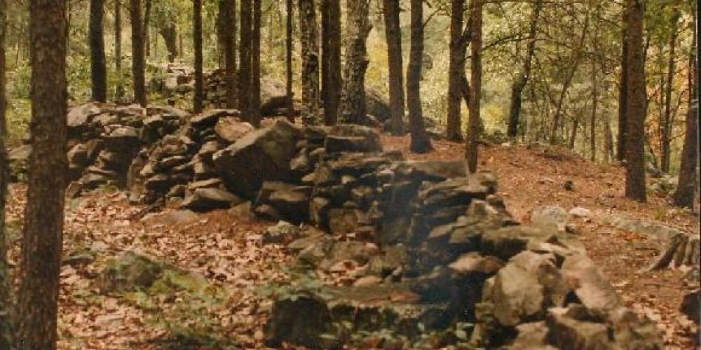 Civil War Breastworks at Dug Gap Battle Park, Dalton, GA – Whitfield-Murray Historical Society