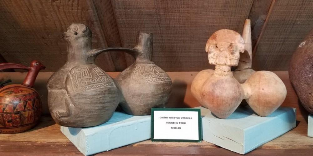 Vessels on display. – Ancient Wars Museum