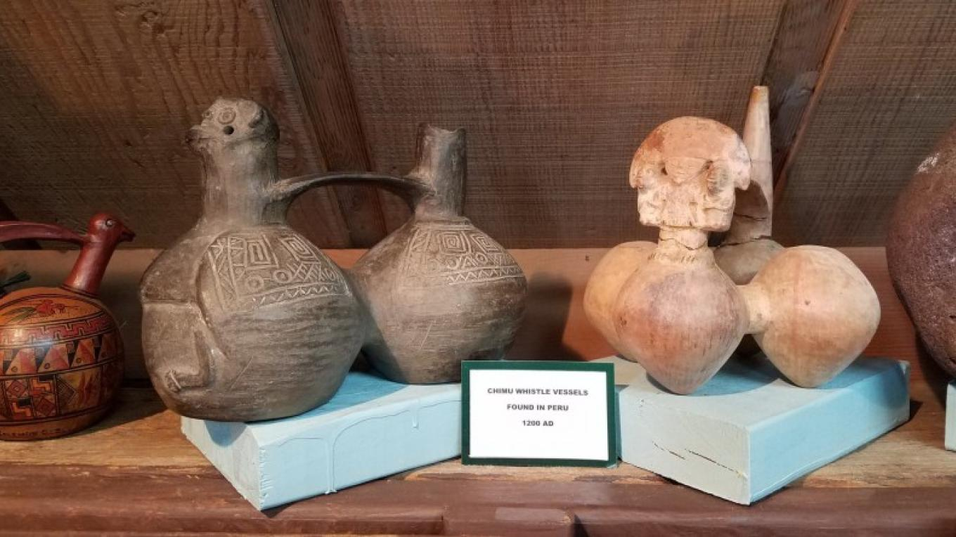 Vessels on display. – Ancient Wars Museum