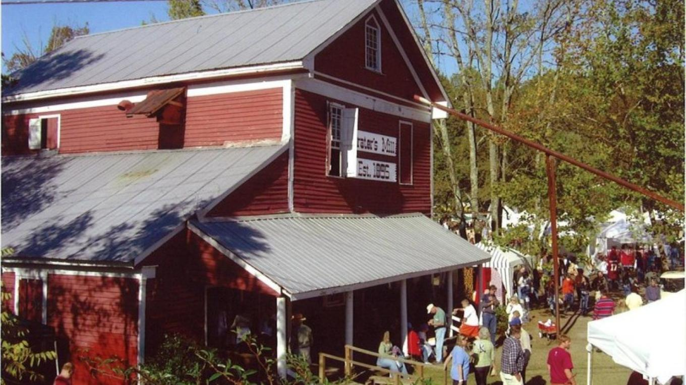 Prater's Mill - built in 1855 along the Cohutta-Chattahoochee Scenic Byway – Dalton CVB