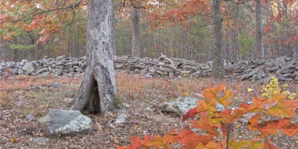 Ancient rock wall at Fort Mountain State Park, Chatsworth, GA – GA State Parks - GA Dept. of Natural Resources