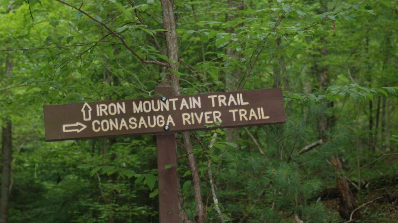 Conasauga River Trail Sign – Jim Caldwell