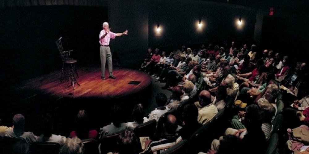 Donald Davis appears as teller-in-residence in the Storytelling Live! series – Tom Raymond, Fresh Air Photo