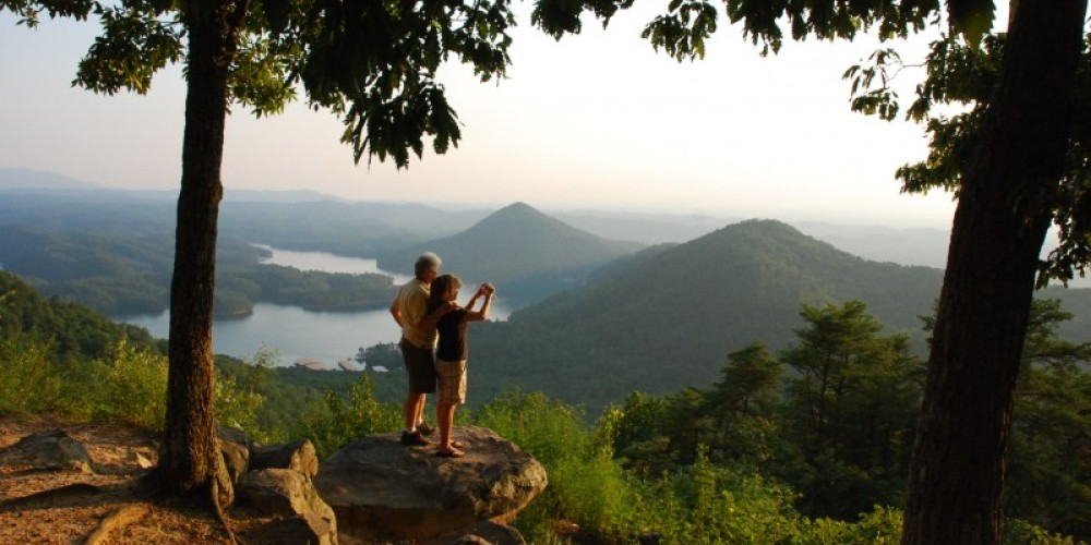 Chilhowee Overlook in Tennessee Overhill – Jim Caldwell